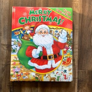 Merry Christmas First Look and Find Book